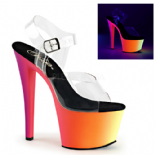 Scarpe Pleaser Rainbow-308UV/C/NMC